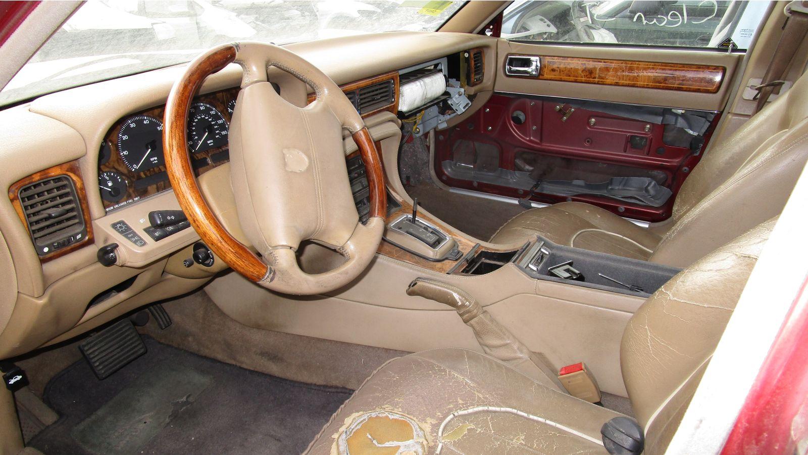 junkyard gem 1995 jaguar vanden plas. Black Bedroom Furniture Sets. Home Design Ideas