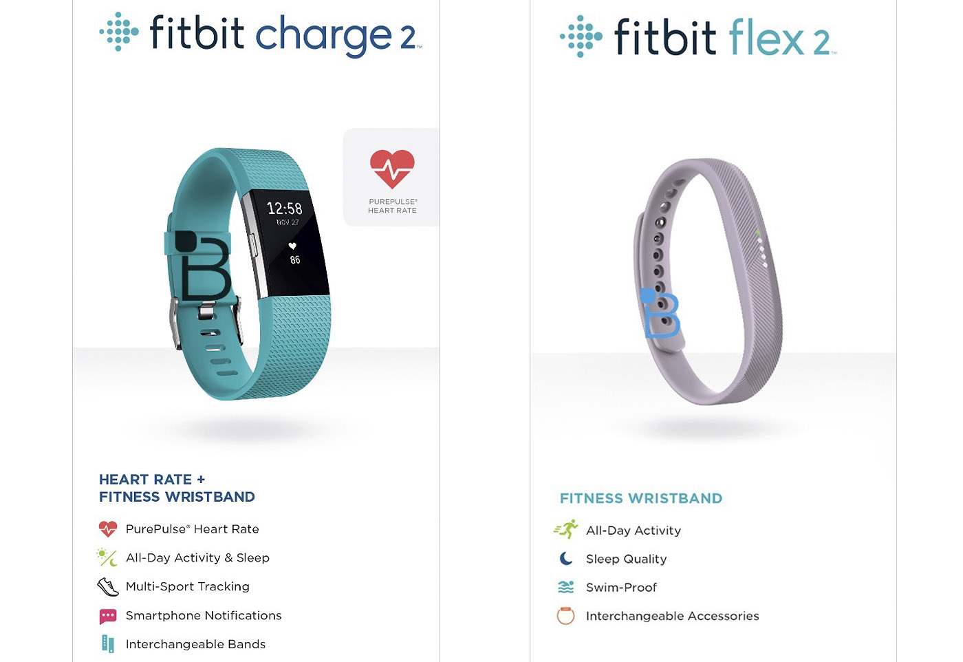 Fitbit Swimming Tracker >> Fitbit S New Charge 2 And Flex 2 Wearables Leak