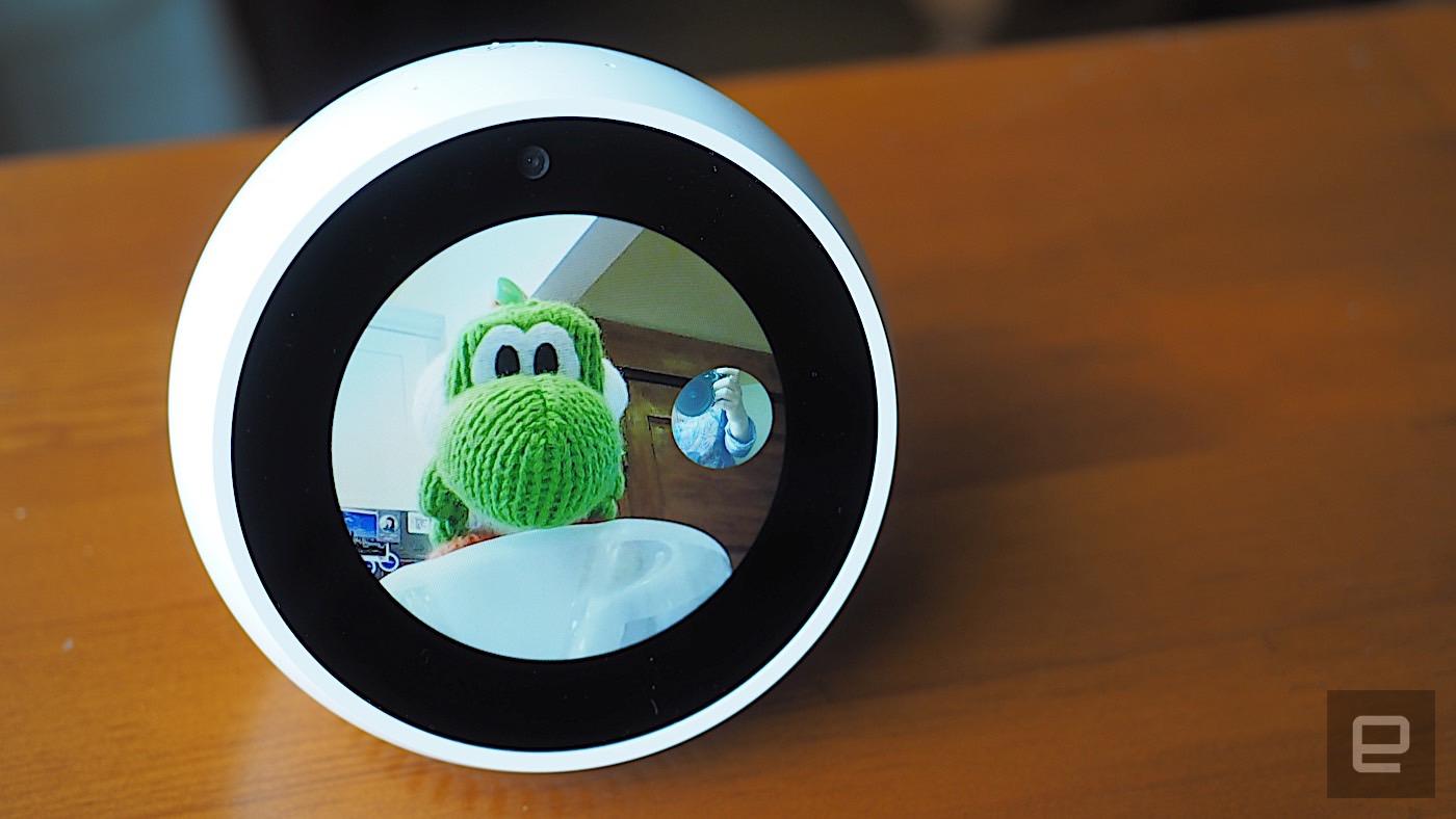 d993c71733d Amazon Echo Spot review  As smart as it is cute