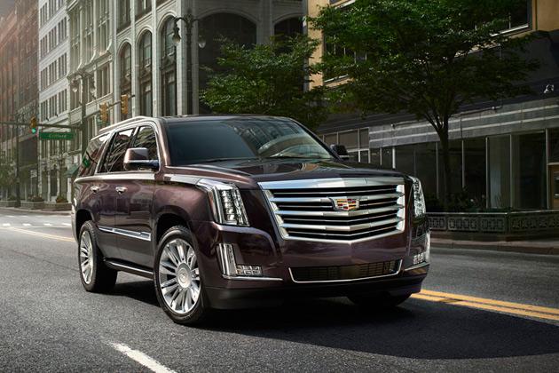 キャデラック、高級SUV「エスカレード」に8速ATを採用 最上級仕様「プラチナム」も登場!