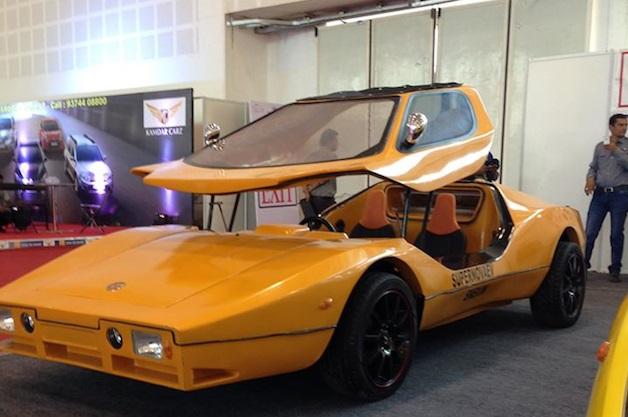 インド初のEVスポーツカー、スーパーノヴァ「SNEV」