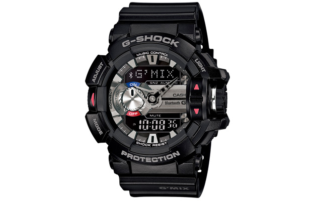 Casio GBA-400 手錶能幫你辨識周遭的音樂