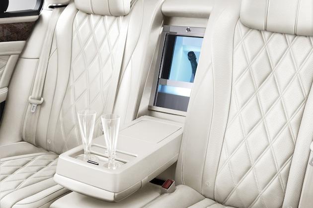 ベントレー、新型「フライングスパー」に100万円のシャンパン・クーラーをオプション設定