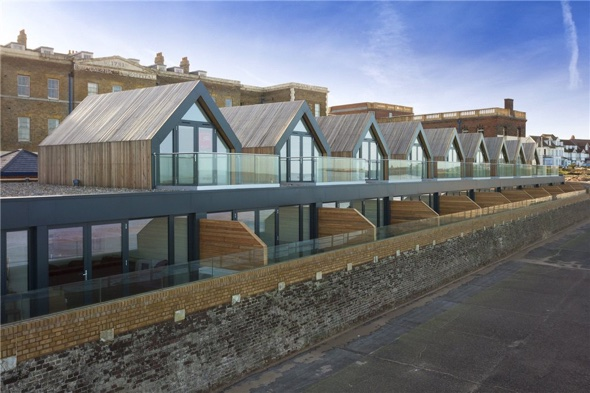 Beach huts in Margate get a luxury makeover