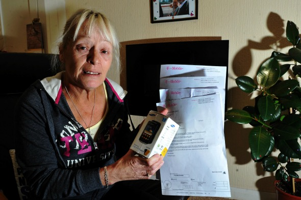 T-Mobile bills widow