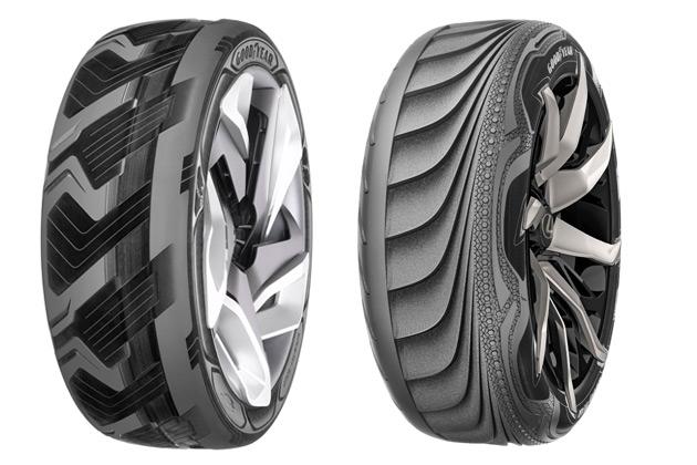【ジュネーブ2015】タイヤで発電したり、路面に合わせて変形したり! グッドイヤーが未来のタイヤを発表