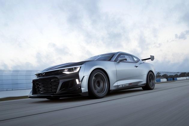 シボレー「カマロ ZL1」をベースにした新型GT4マシン「カマロ GT4.R」がレース・デビュー!