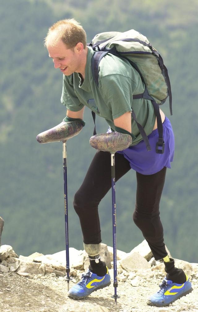 British man is first quadruple amputee to climb Matterhorn