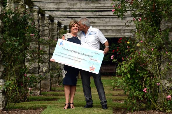 couple lottery winners