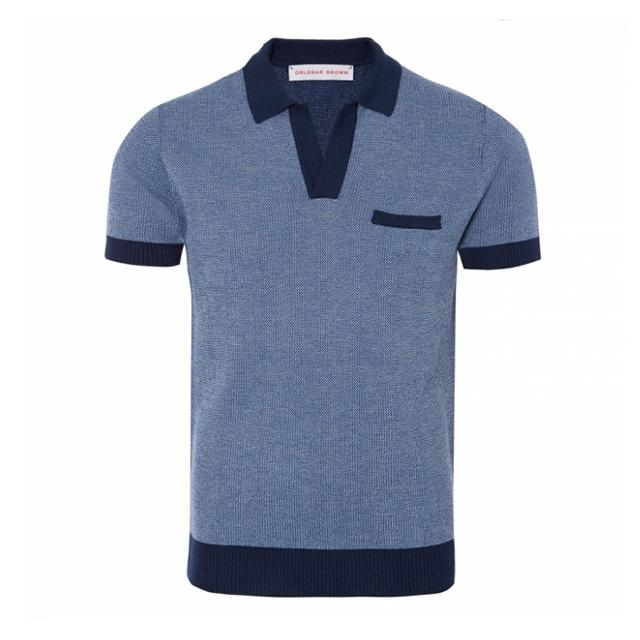 Navy sportswear polo