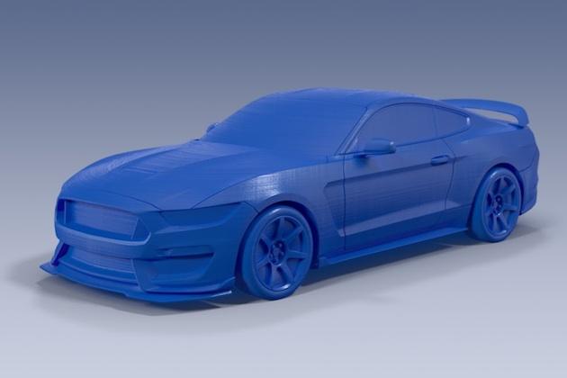 フォードが「フォーカスRS」や「シェルビー GT350R」などの3Dプリント用データを販売開始!