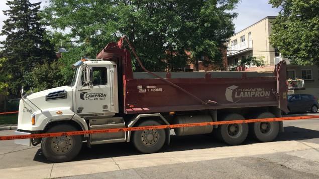 Le camion impliqué dans l'accident qui a coûté la vie a une cycliste âgée dans la