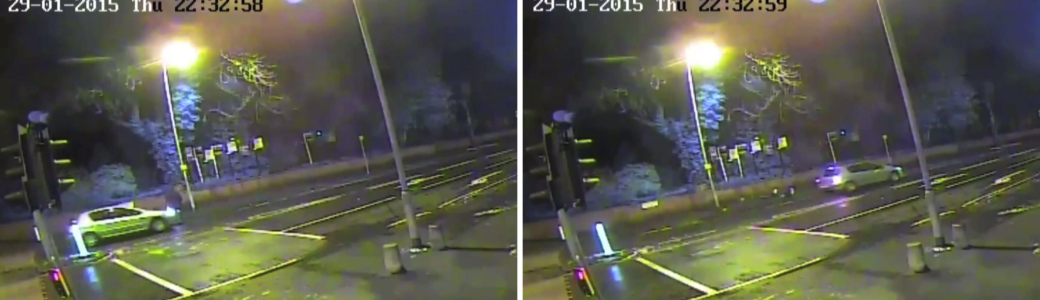 Handout CCTV footage