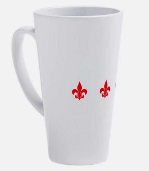 Cette tasse pour café au lait se vend 27,50