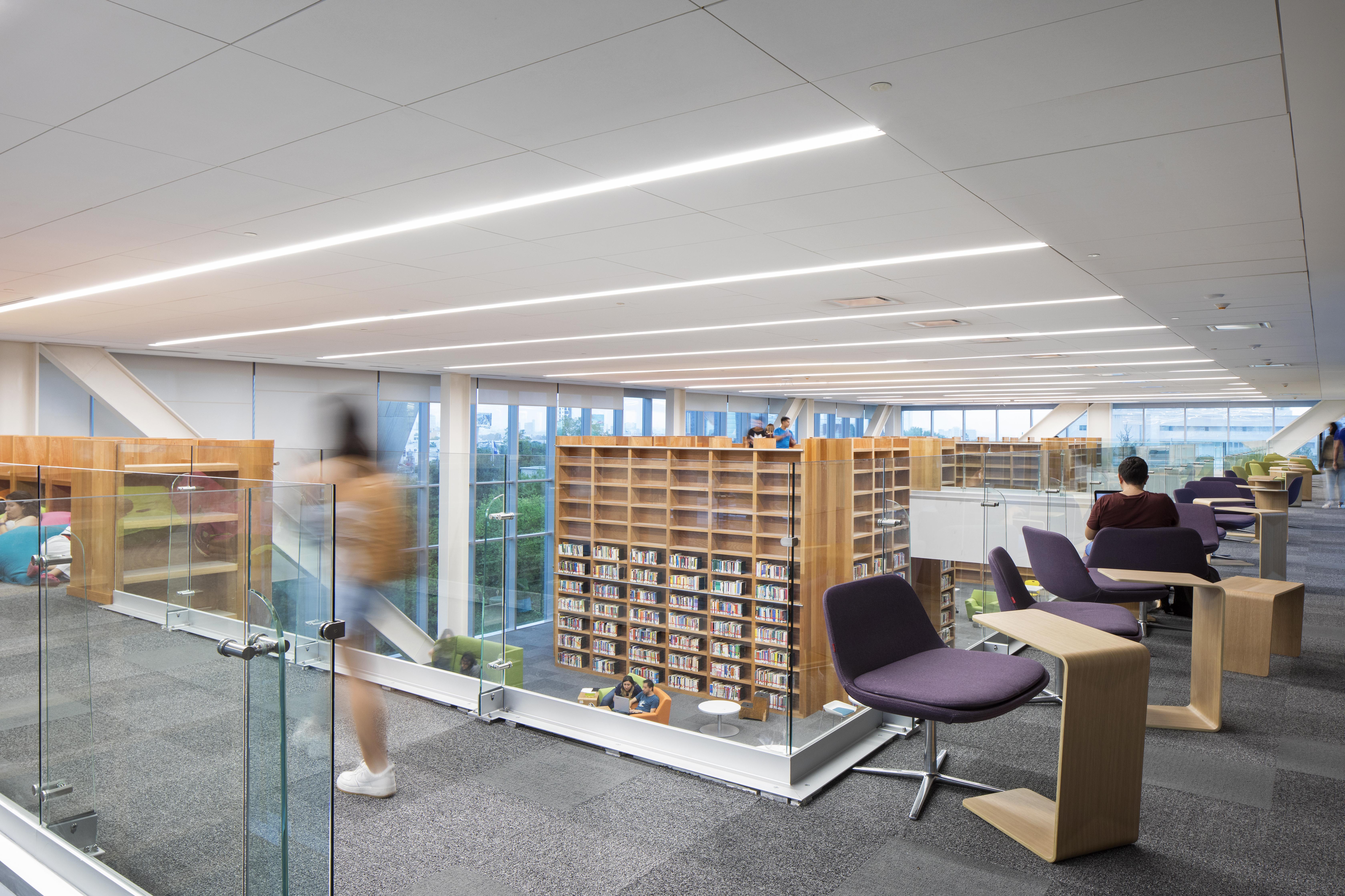 Las funciones de esta nueva biblioteca superan las de una