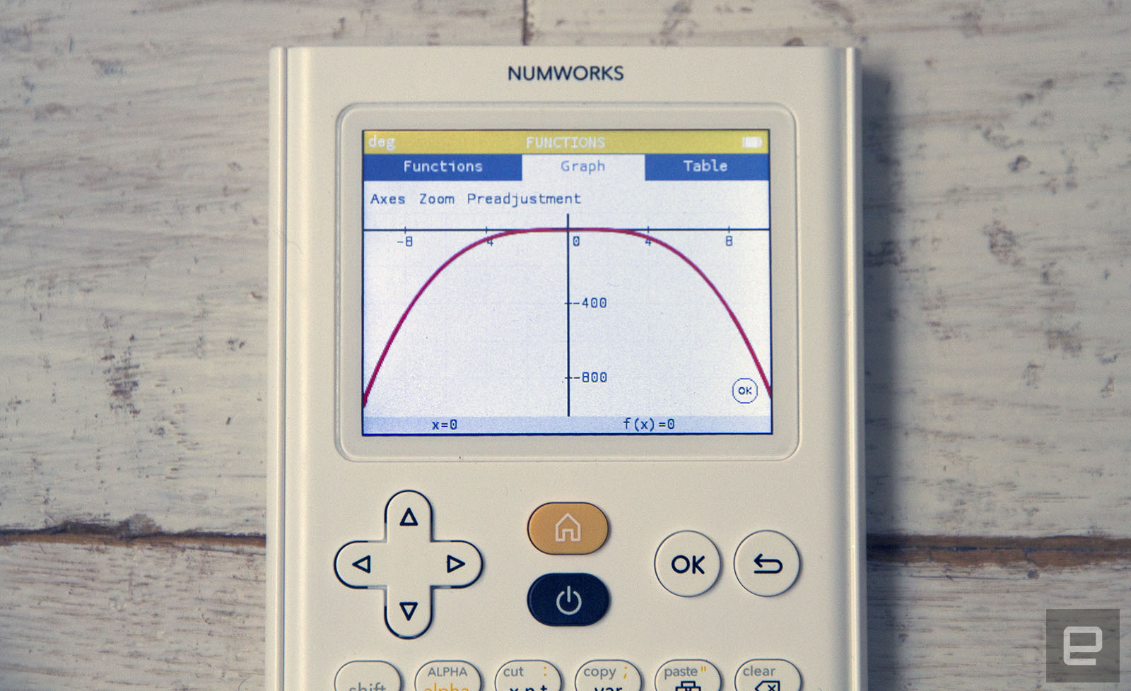 Numworks graphing calculator is made for students raised on tech