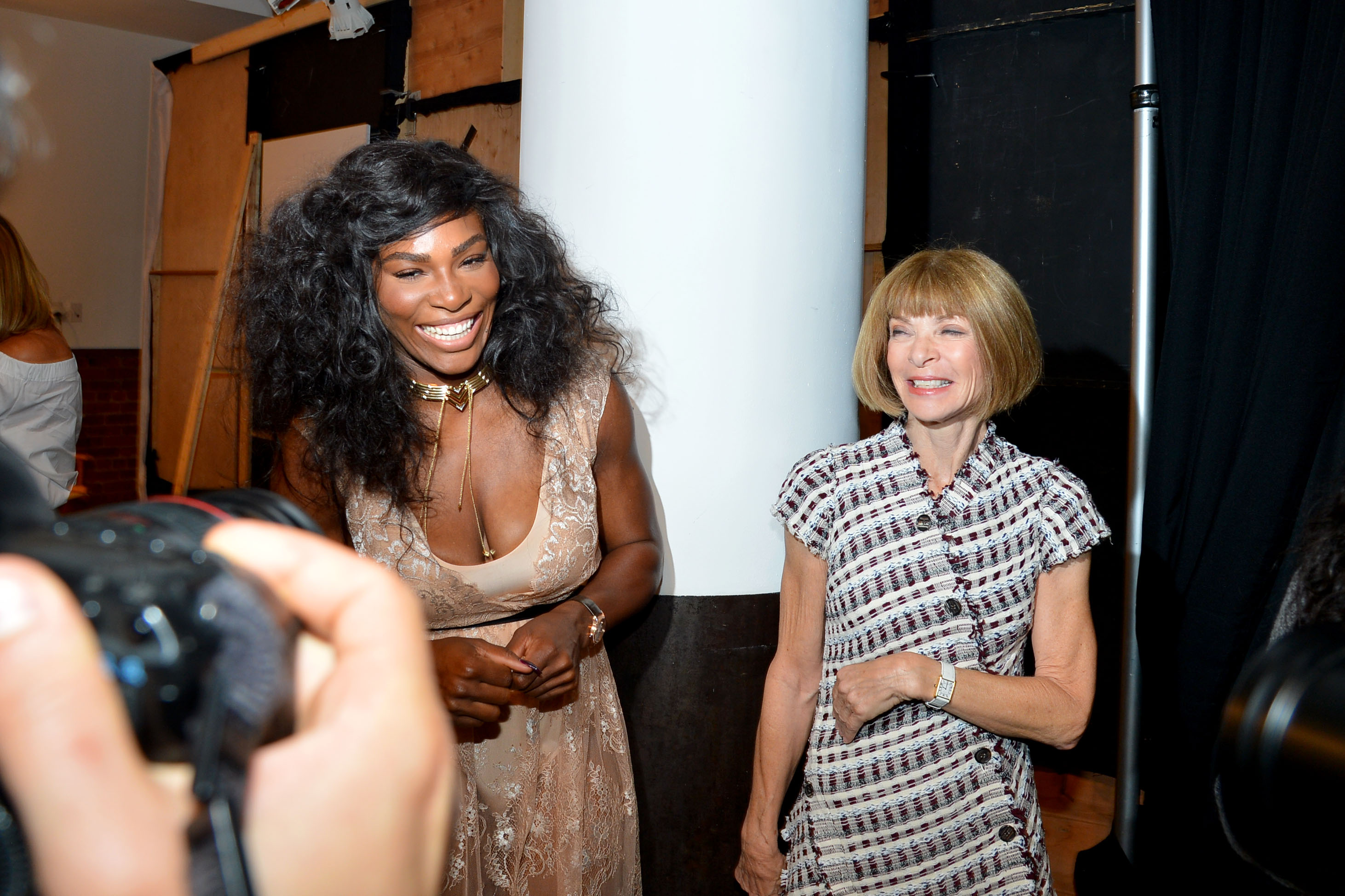 Serena Williams Signature Statement Collection By HSN - Backstage - September 2016 - Style360 Fashion Week