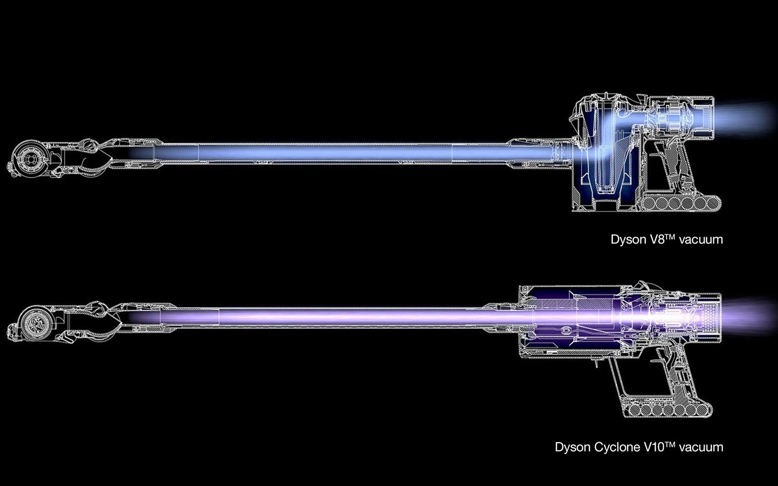 ダイソンが新コードレス掃除機cyclone v10発表 毎分12万5000回転