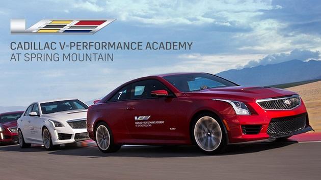 キャデラック、米国で「CTS-V」または「ATS-V」の新車を購入したオーナーに2日間のドライビング・スクールを無償提供