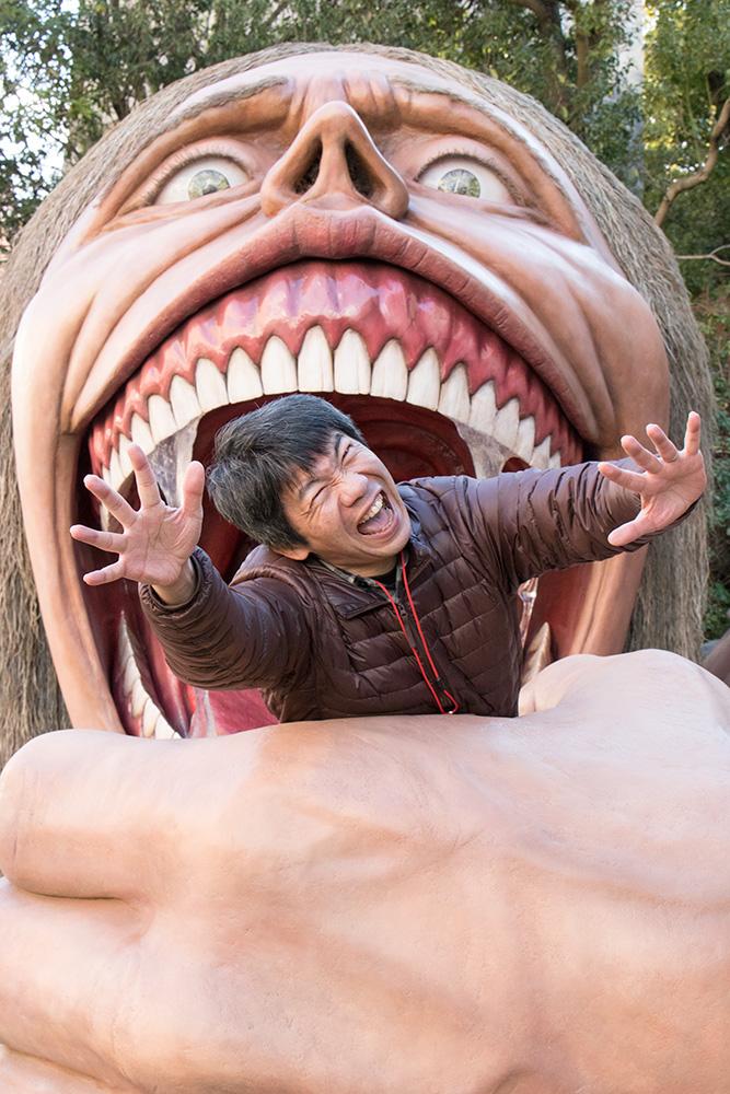 """『進撃の巨人』×リアル脱出ゲーム""""巨人に包囲された遊園地からの脱出""""にNON STYLEの井上と声優の井上麻里奈さん"""
