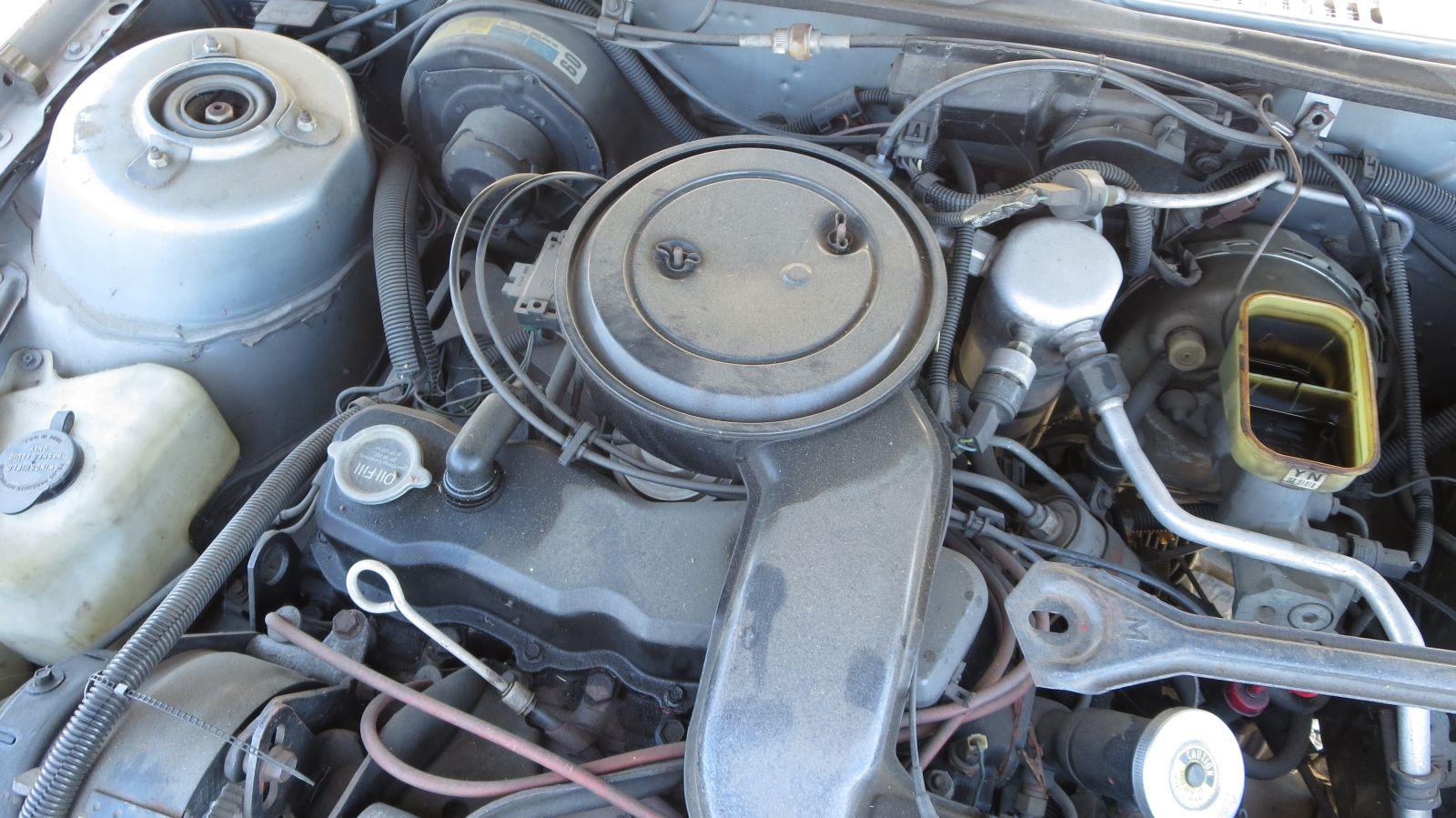GM Iron Duke engine in 1984 Oldsmobile Omega