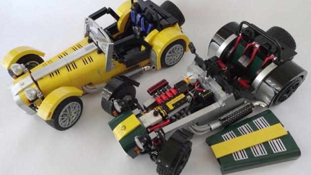 一般公募で人気を集めたケータハム「セブン」のレゴ、間もなく発売が決定!