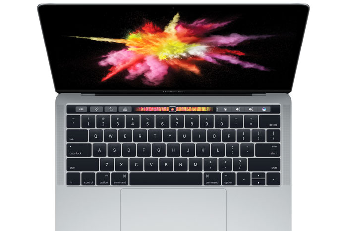 Meet the MacBook Pro's new Touch Bar with TouchID