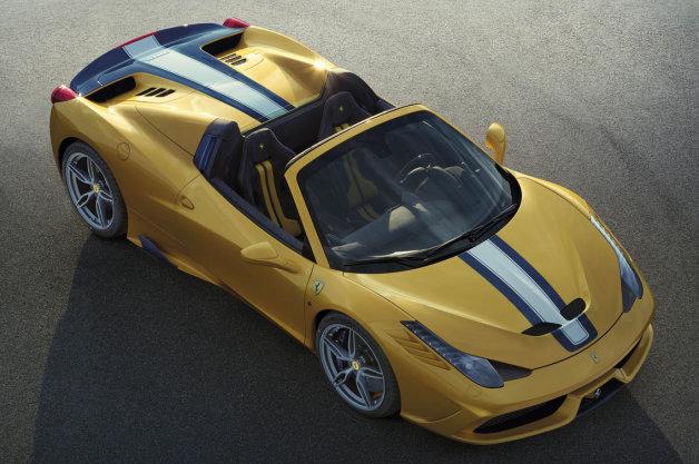 フェラーリ史上最強のコンバーチブル「458スペチアーレA」