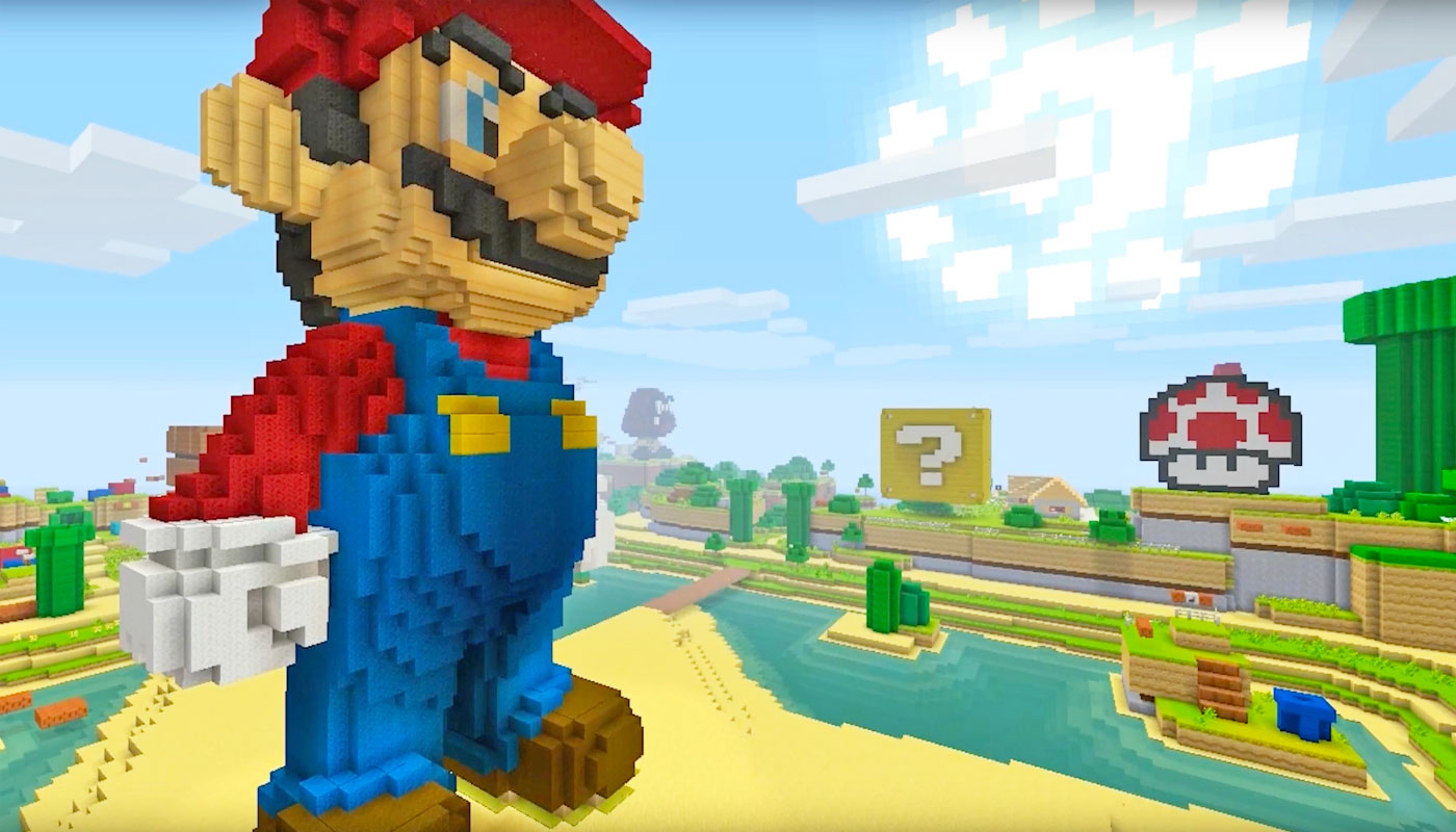 Super Mario Is Coming To Minecraft Wii U Edition - Minecraft spielen video