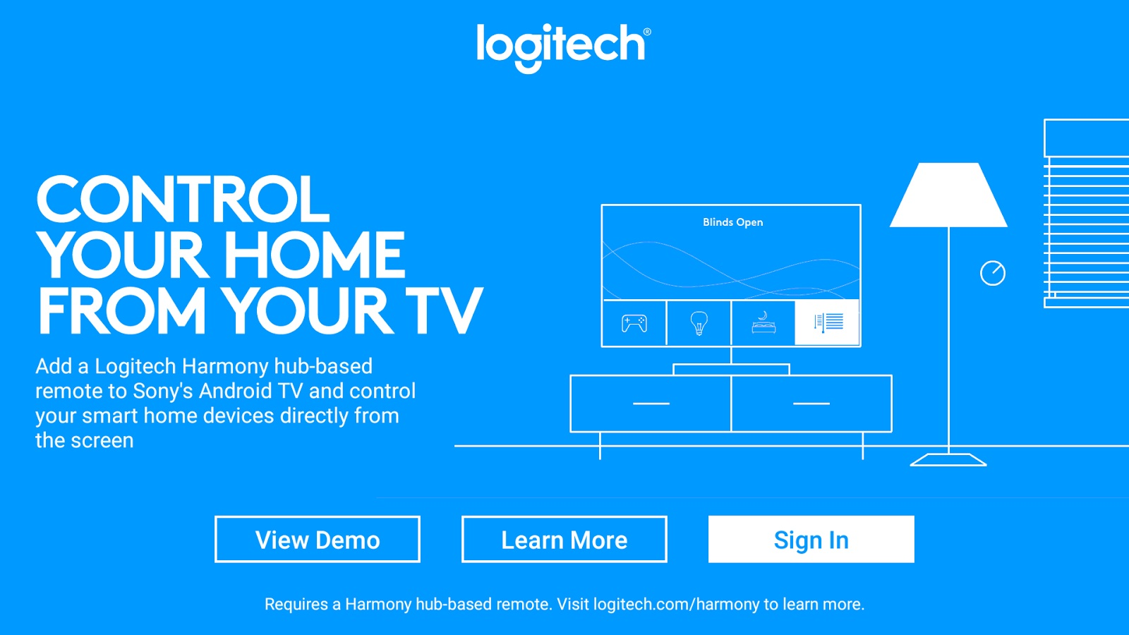 Logitech's Harmony app brings smart home control to Android TV