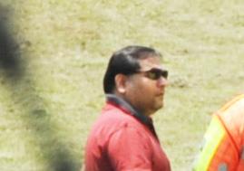 Ajay Gupta pictured at the Optimum coal mine