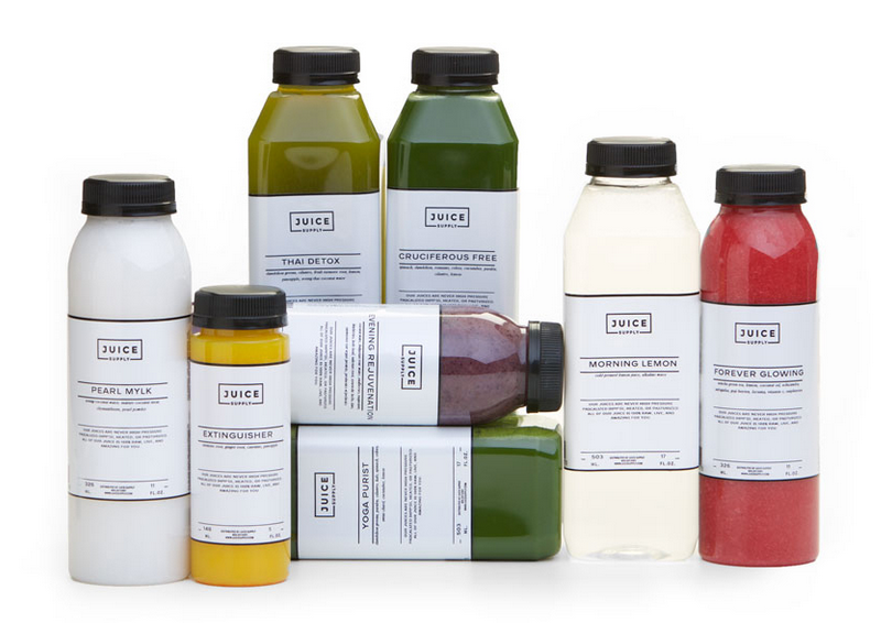 Slim & Glow juice cleanse from Juice Supply