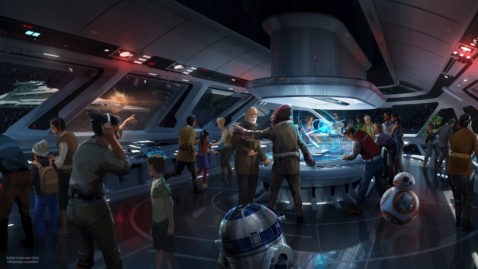 AT D23 EXPO 2017, DISNEY PARKS CHAIRMAN BOB CHAPEK ANNOUNCES NEW STAR WARS-THEMED HOTEL FOR WALT DISNEY WORLD RESORT -- During D23 Expo 2017, Walt Disney Parks & Resorts Chairman Bob Chapek announced plans to create the most experiential concept ever in an immersive Star Wars-themed hotel at Walt Disney World Resort. Dedicated entirely to the galaxy of Star Wars, it will be a one-of-a-kind experience where a luxury resort meets a multi-day adventure in a galaxy far, far away.