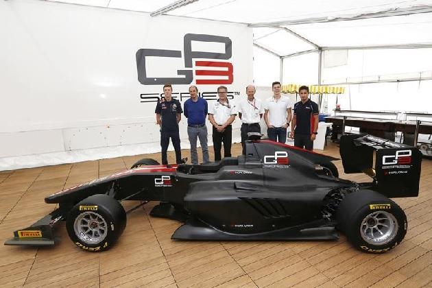 GP3シリーズ、ダラーラ製の新型シャシーをモンツァで発表