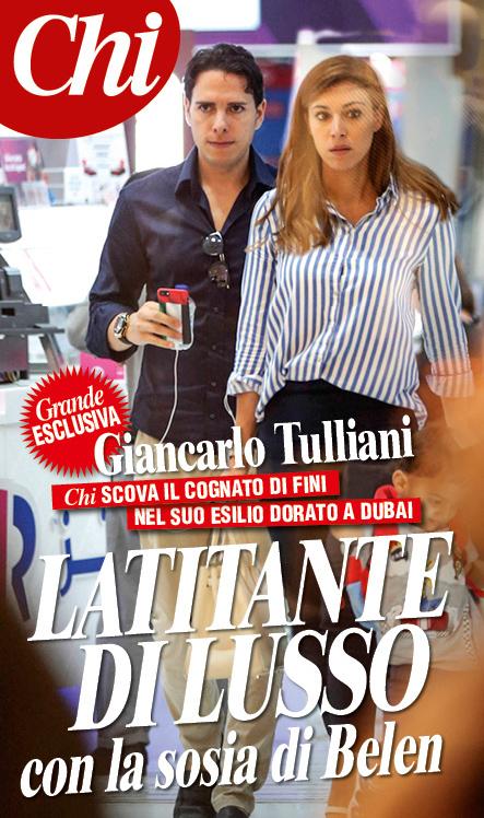 Giancarlo Tulliani in esilio dorato a Dubai. Il reportage del settimanale Chi sulla latitanza del cognato di Fini