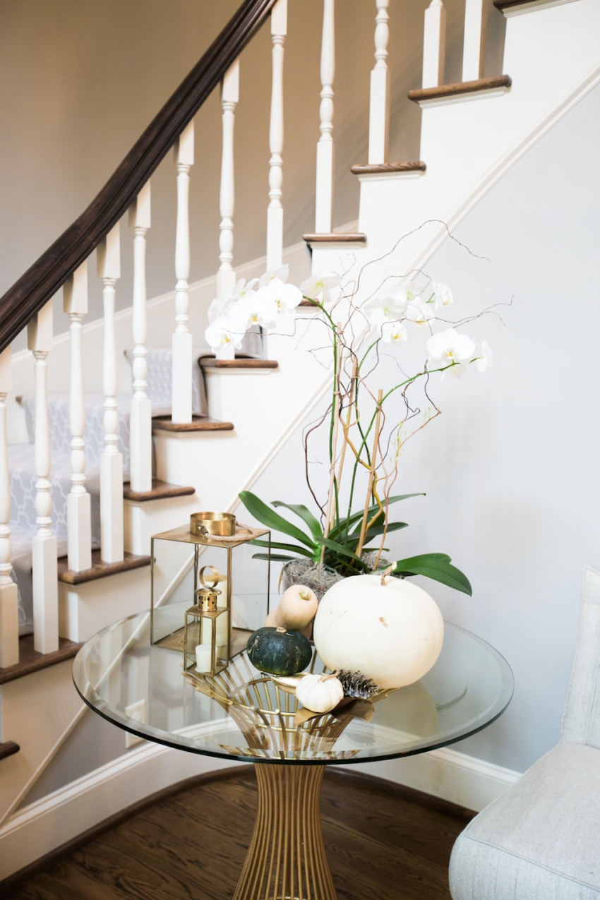 decorate your foyer and entry for fall