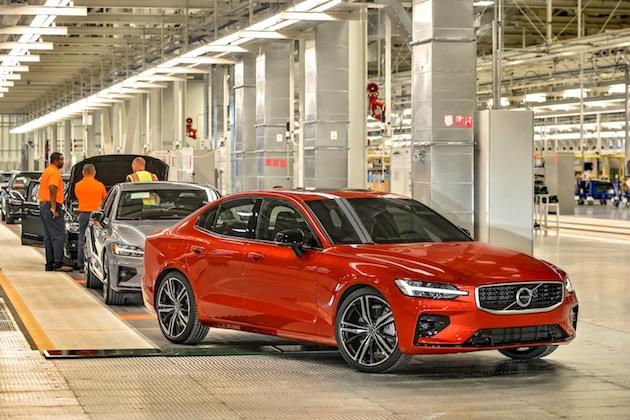 ボルボ、米国に初めて設立した工場が稼働開始 新型「S60」を世界各地に向け生産