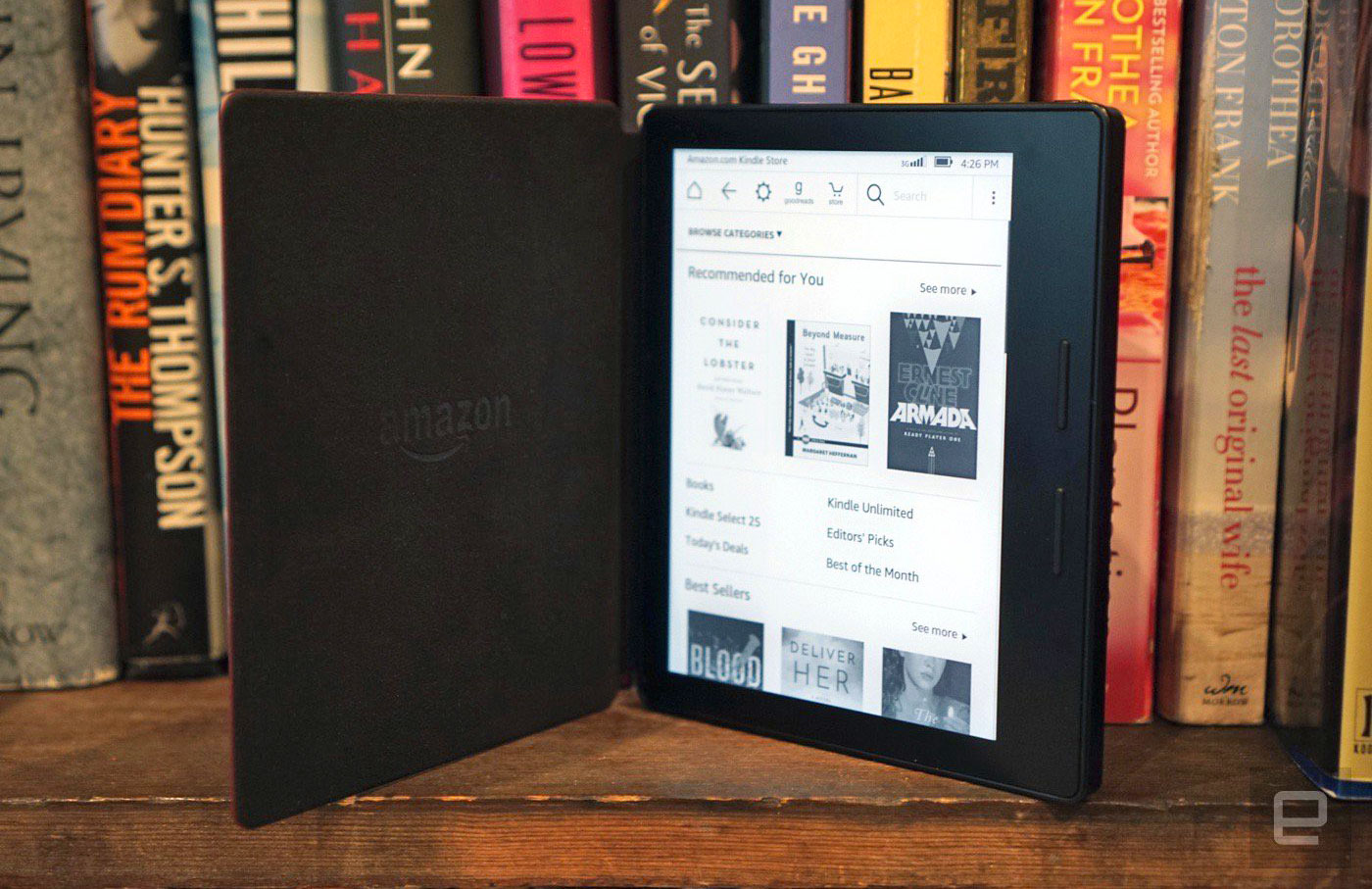 Kindle Oasis review: The perfect e-reader for the 1 percent on