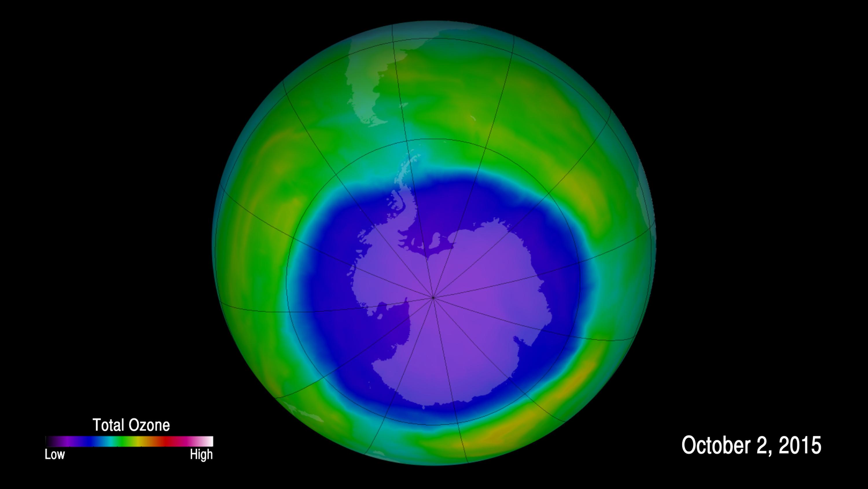 研究顯示臭氧層已有癒合跡象
