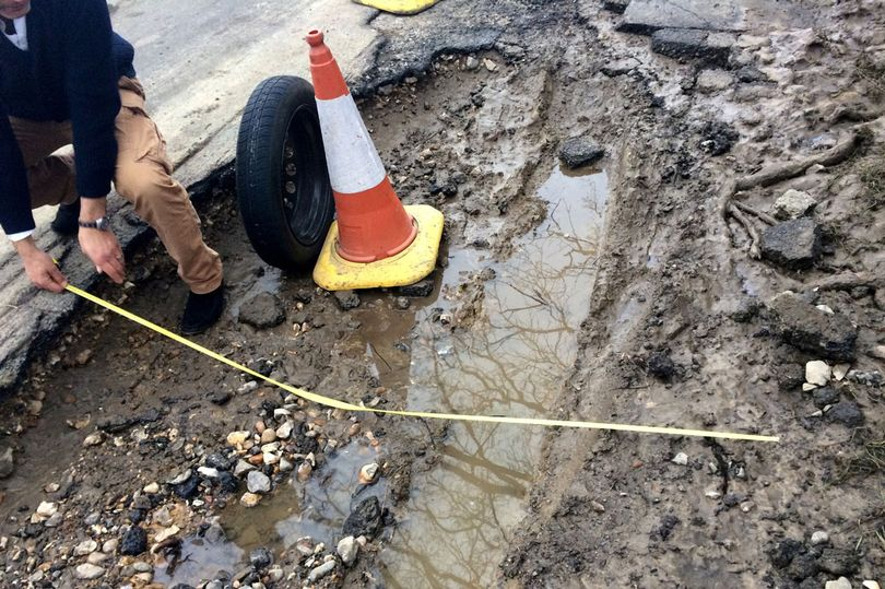 How much you could be owed in compensation for potholes