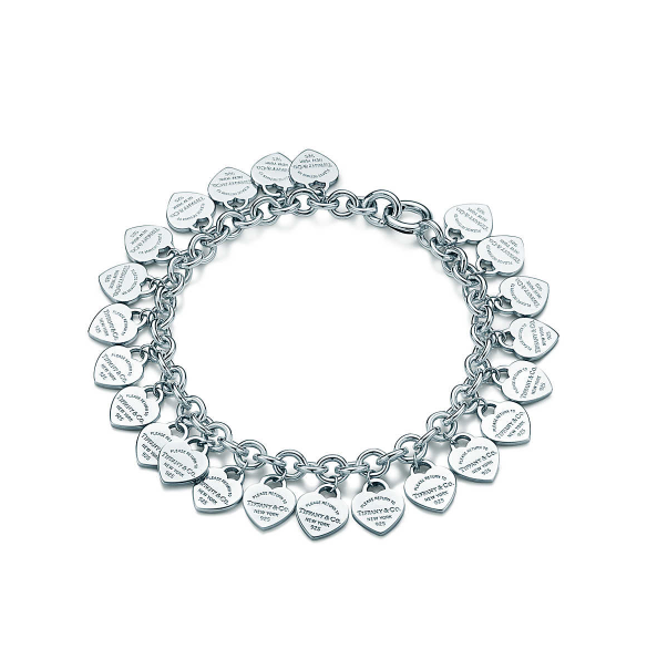 Tiffany Co Multi Heart Tag Bracelet 385 00