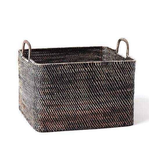 modern weave oversized storage bin