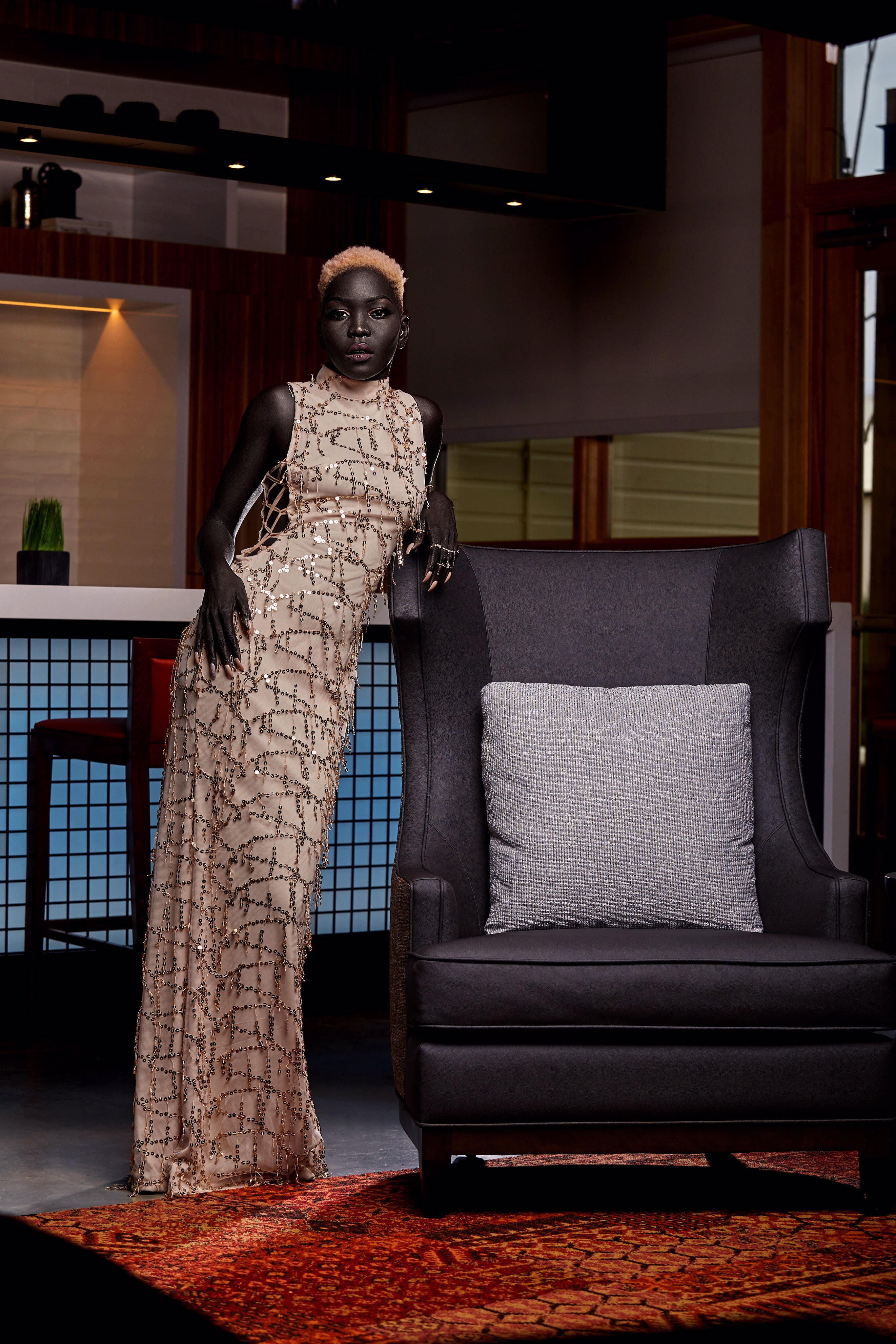 How Nyakim Gatwech Went From Living In Refugee Camps To Modelling For Calvin