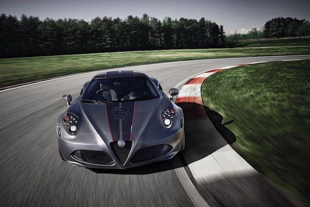 アルファ ロメオ、「4C」のクーペとスパイダーに2つの限定モデルを設定!