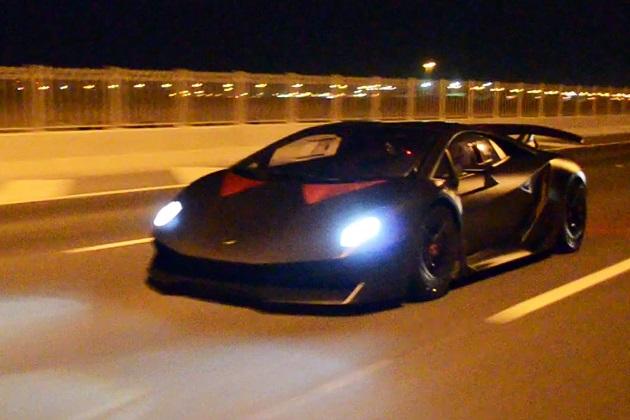 【ビデオ】サーキット専用車両であるはずのランボルギーニ「セスト・エレメント」で、高速道路を爆走!