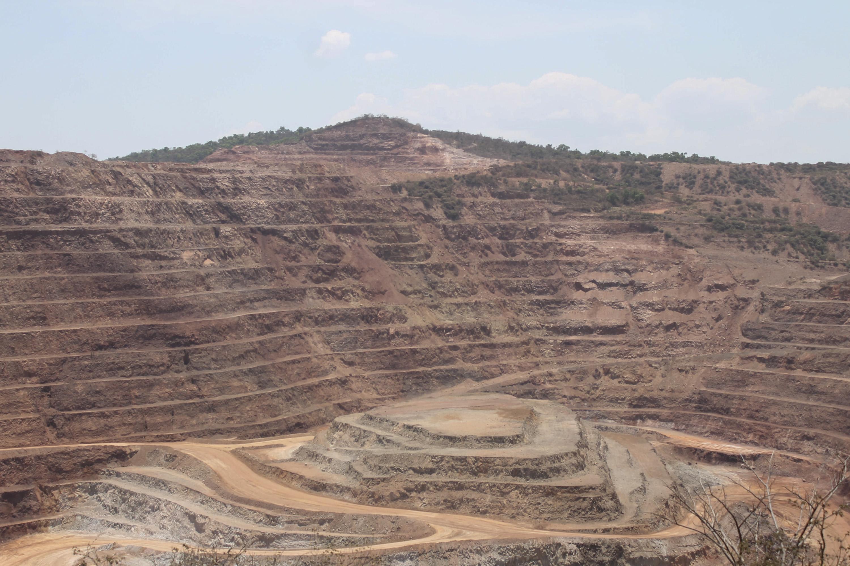 La mina Los Filos, en Carrizalillo,