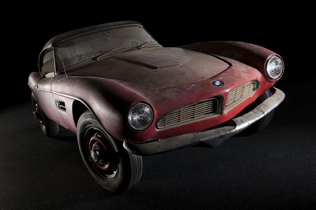 【ビデオ】BMWがエルヴィス・プレスリーの愛車だった「507」をレストア