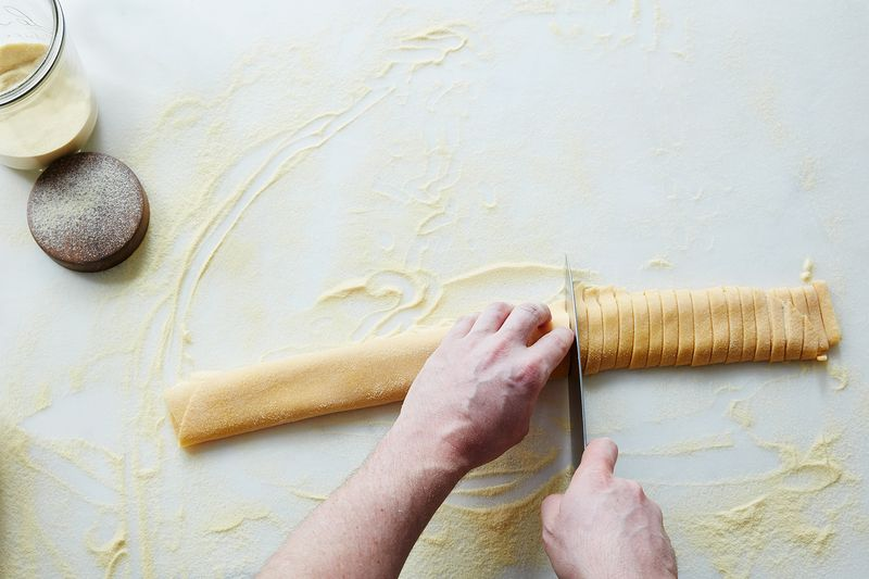 How to make homemade pasta dough