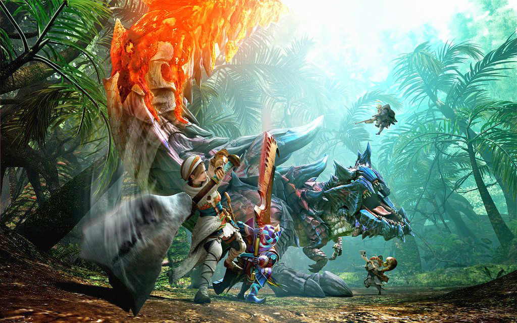 Monster hunter generations hits ds in the summer