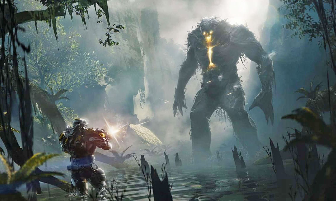 Watch 20 Minutes Of Anthem Gameplay In 4k Engadget